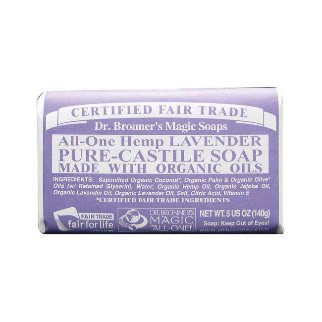 Dr. Bronner'sPure Castile Bar Soap Lavender