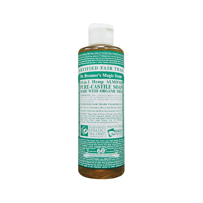Dr. Bronner'sPure Castile Liquid Soap Almond