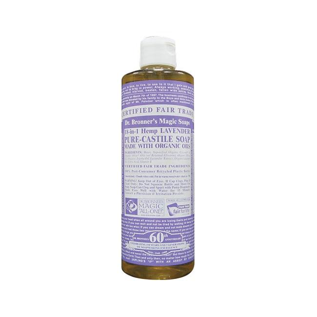 Dr. Bronner's Pure Castile Liquid Soap Lavender