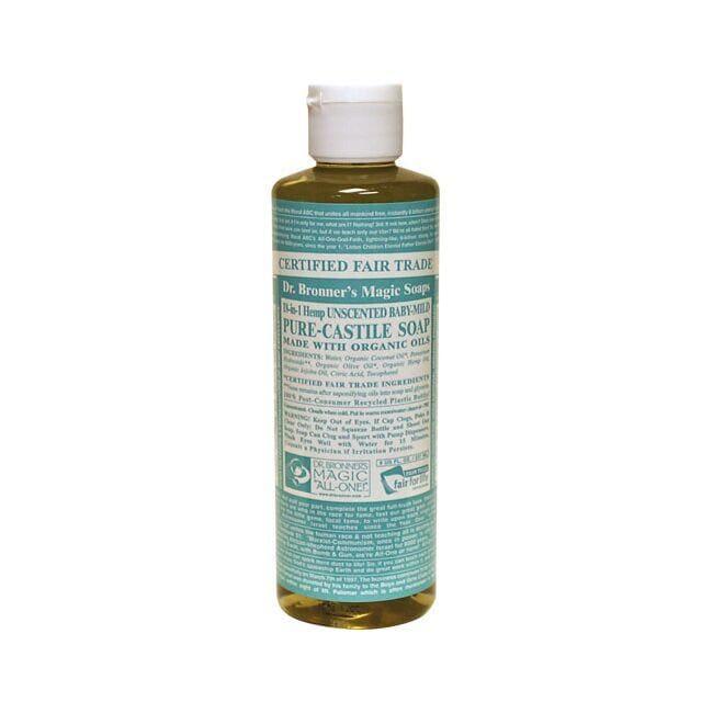 Dr. Bronner'sOrganic Castile Liquid Soap Baby-Mild