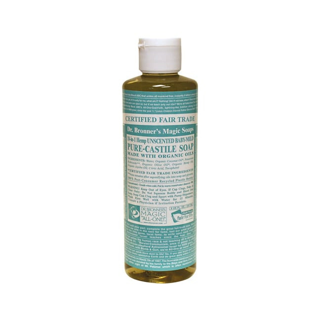 Dr. Bronner's Organic Castile Liquid Soap Baby-Mild