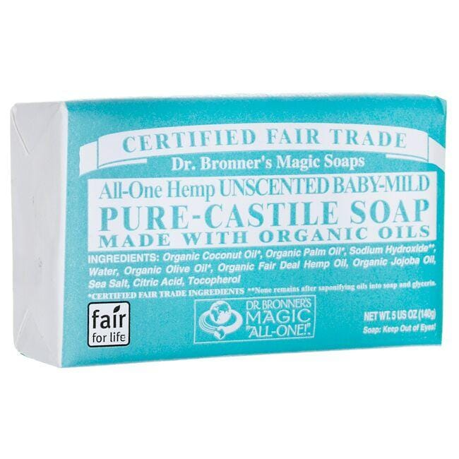 Dr. Bronner's Pure-Castile Soap - All-One Hemp Unscented Baby-Mild