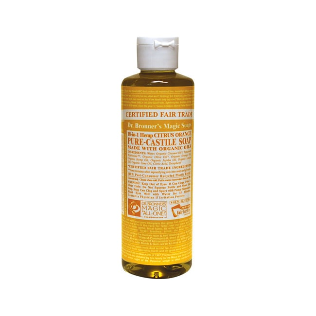 Dr. Bronner'sOrganic Castile Liquid Soap Citrus Orange