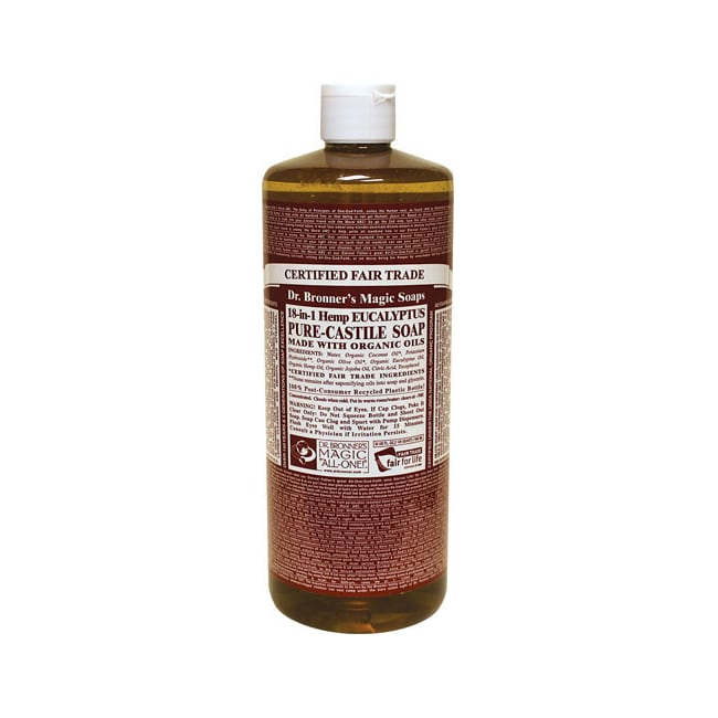 Dr. Bronner's Organic Castile Liquid Soap Eucalyptus