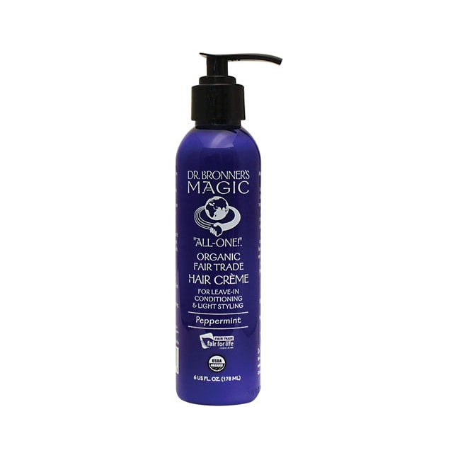 Dr. Bronner's Magic Organic Hair Creme Peppermint