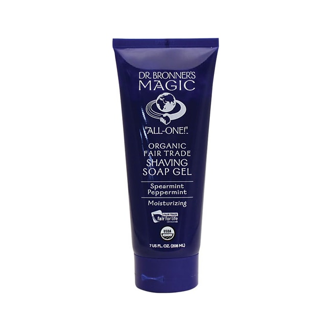 Dr. Bronner'sMagic Organic Shaving Soap Gel Spearmint Peppermint