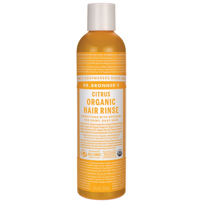 Dr. Bronner's Magic Organic Shikakai Conditioning Hair Rinse Citrus