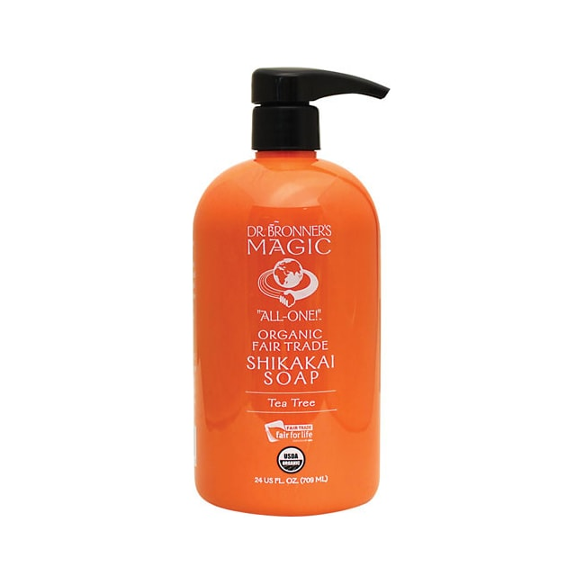 Dr. Bronner'sMagic Organic Shikakai Soap Tea Tree