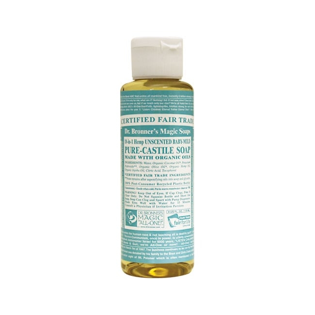Dr. Bronner's Pure Castile Liquid Soap Baby Mild