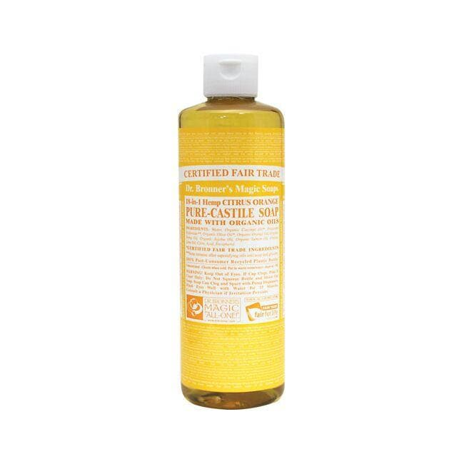 Dr. Bronner's Pure Castile Liquid Soap Citrus Orange