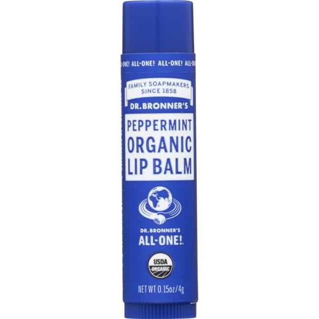 Dr. Bronner'sMagic Organic Lip Balm Peppermint