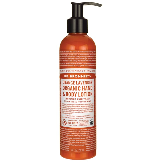 Dr. Bronner'sMagic Organic Lotion Orange Lavender