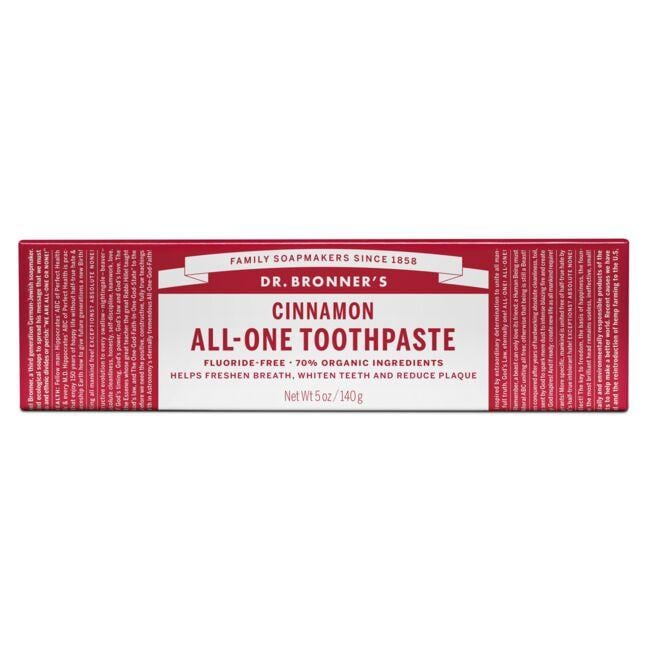 Dr. Bronner'sCinnamon All-One Toothpaste