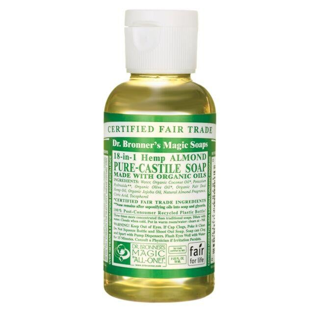 Dr. Bronner's 18-in-1 Hemp Almond Pure-Castile Soap