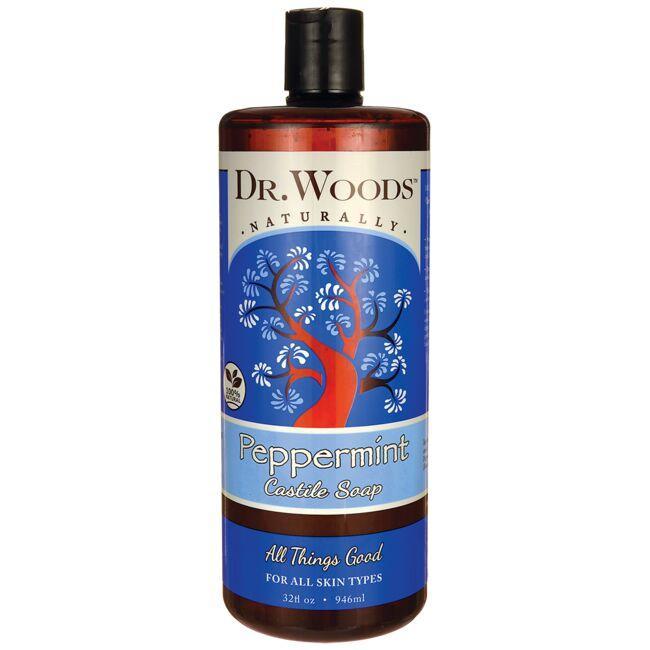 Dr. WoodsPeppermint Castile Soap