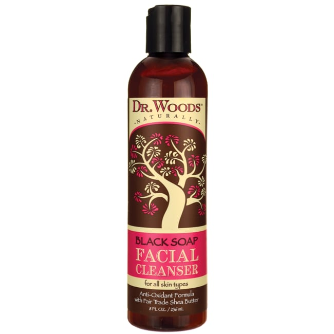 Dr. WoodsBlack Soap Shea Facial Cleanser