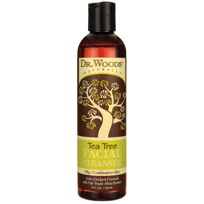 Dr. Woods Tea Tree Shea Facial Cleanser