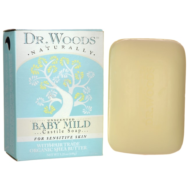 Dr. WoodsBaby Mild Castile Soap - Unscented