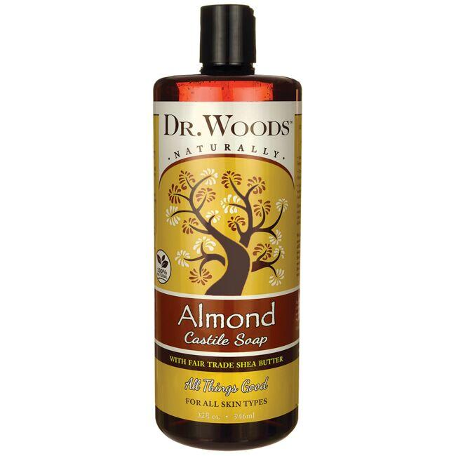 Dr. Woods Almond Castile Soap with Fair Trade Shea Butter