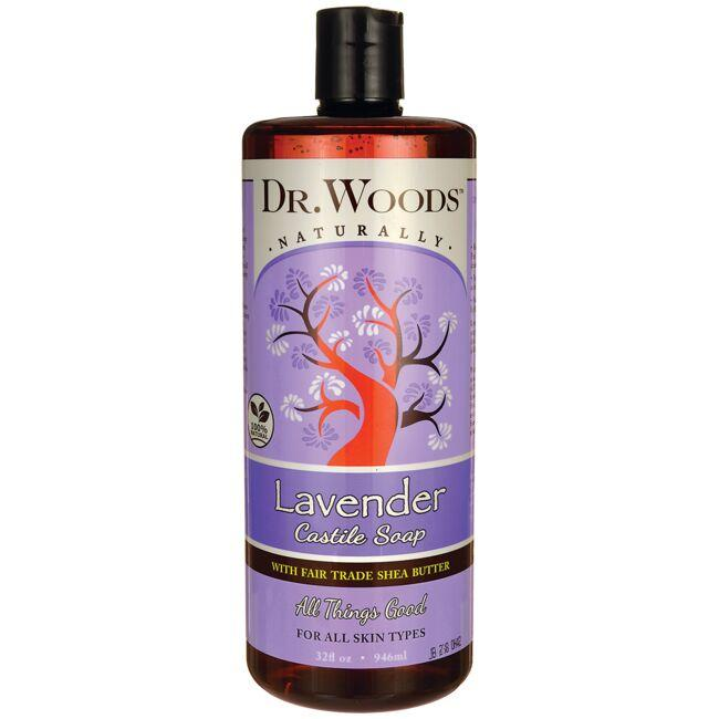 Dr. Woods Lavender Castile Soap with Fair Trade Shea Butter