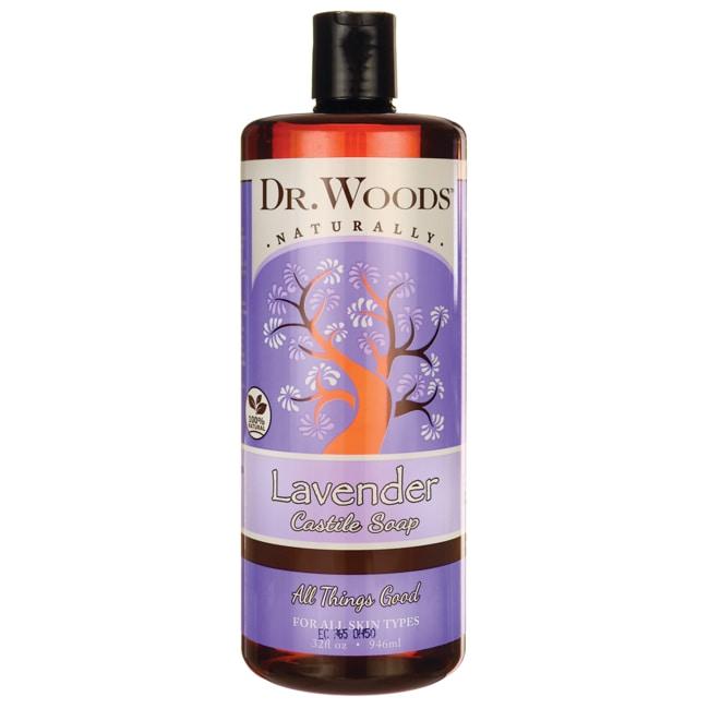 Dr. WoodsLavender Castile Soap