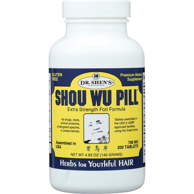 Dr. Shen'sShou Wu Pill - Youthful Hair