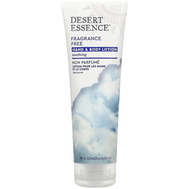 Desert Essence Fragrance Free Hand and Body Lotion