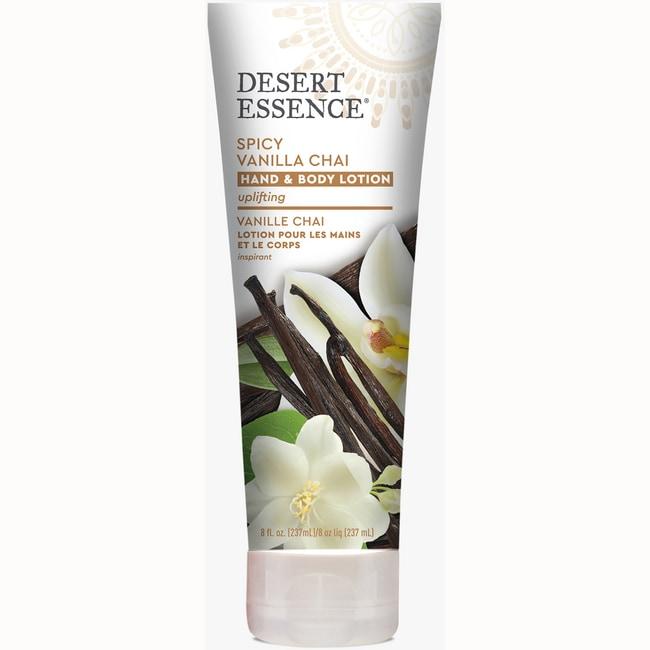 Desert Essence Spicy Vanilla Chai Hand and Body Lotion