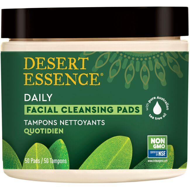 Desert Essence Daily Facial Cleansing Pads
