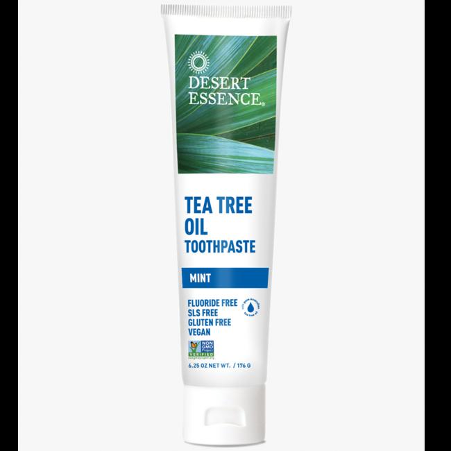 Desert EssenceTea Tree Oil Toothpaste - Mint