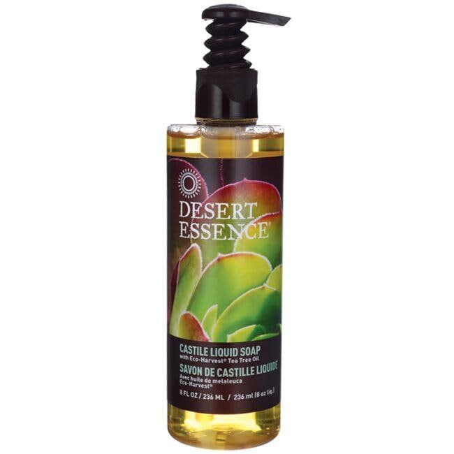 Desert Essence Castile Liquid Soap with Tea Tree Oil