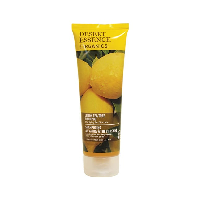 Desert Essence Lemon Tea Tree Shampoo - Oily Hair