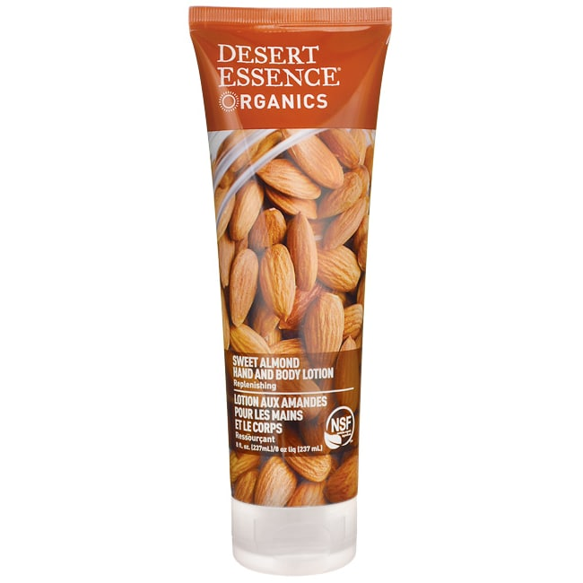 Desert Essence Sweet Almond Hand and Body Lotion
