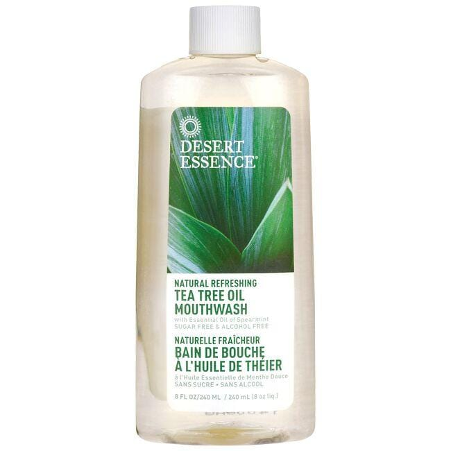 Desert EssenceTea Tree Oil Mouthwash with Spearmint