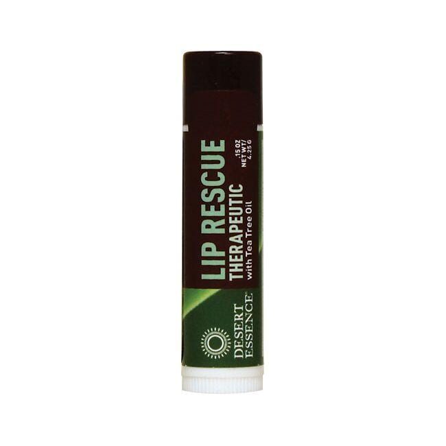 Desert Essence Lip Rescue Therapeutic w/ Tea Tree Oil