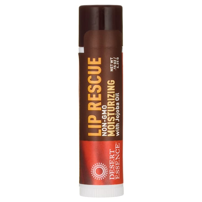 Desert Essence Lip Rescue Moisturizing with Jojoba Oil