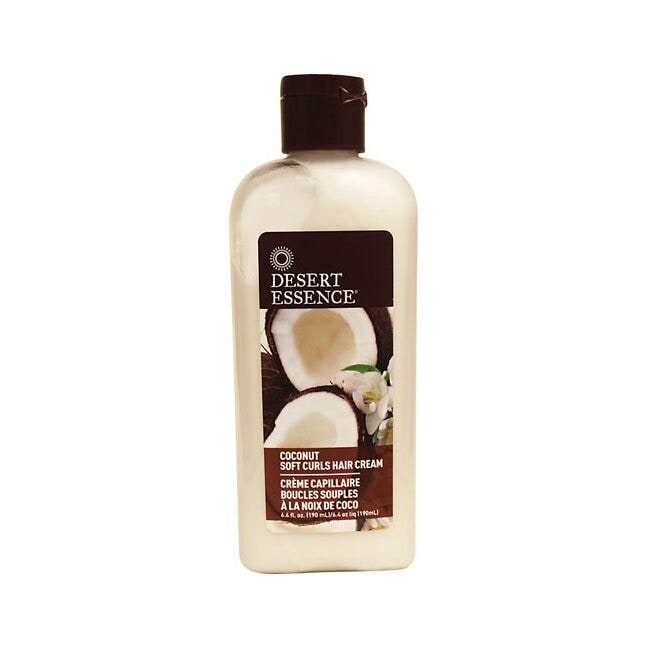 Desert Essence Coconut Soft Curls Hair Cream
