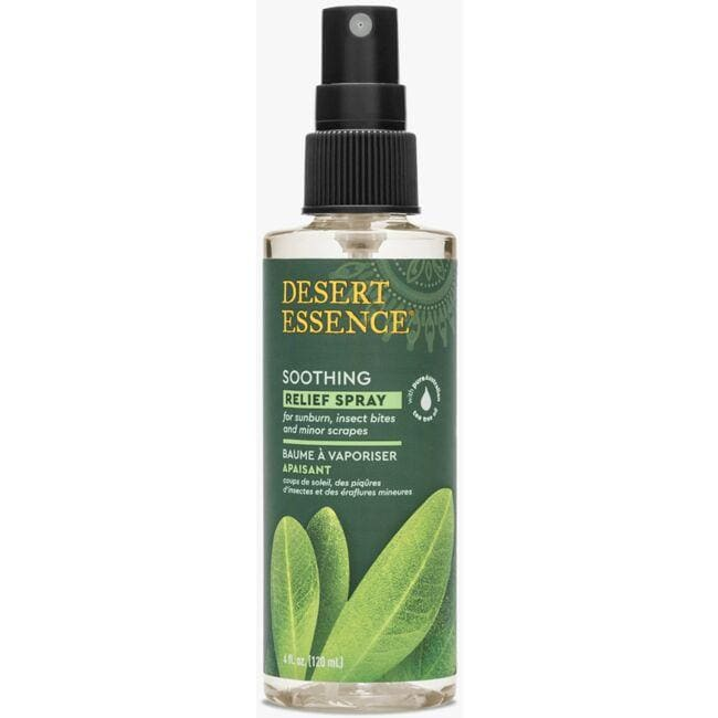 Desert Essence Tea Tree Oil Relief Spray