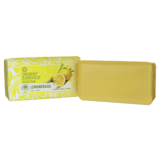 Desert EssenceSoap Bar - Lemongrass