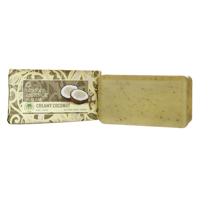Desert EssenceSoap Bar - Creamy Coconut