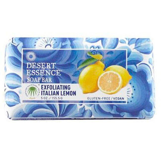 Desert Essence Soap Bar - Exfoliating Italian Lemon