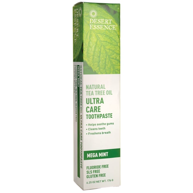 Desert EssenceTea Tree Oil Ultra Care Toothpaste - Mega Mint
