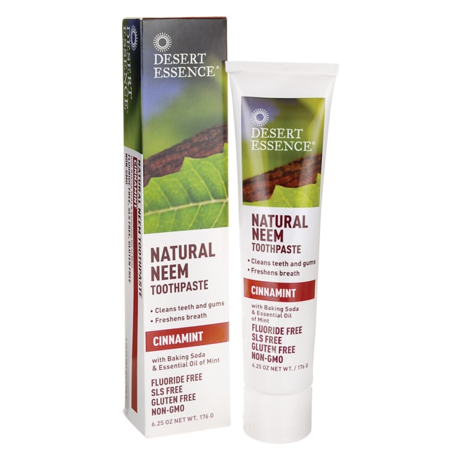 Desert EssenceNatural Neem Toothpaste - Cinnamint