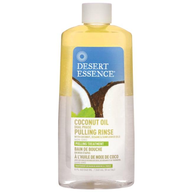 Desert EssenceCoconut Oil Dual Phase Pulling Rinse