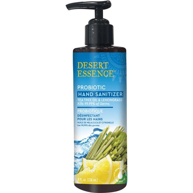Desert Essence Probiotic Hand Sanitizer - Lemongrass