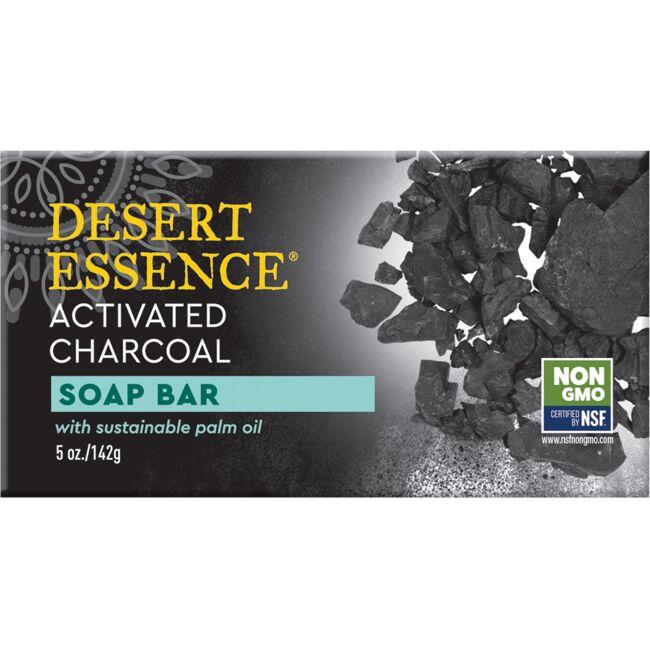 Desert Essence Activated Charcoal Soap Bar