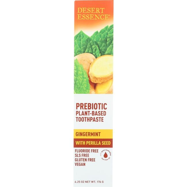Desert Essence Prebiotic Plant-Based Toothpaste - Gingermint