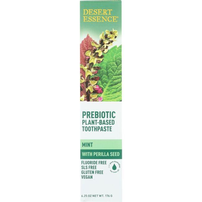 Desert Essence Prebiotic Plant-Based Toothpaste - Mint