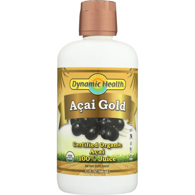 Dynamic Health Acai Gold 100% Organic