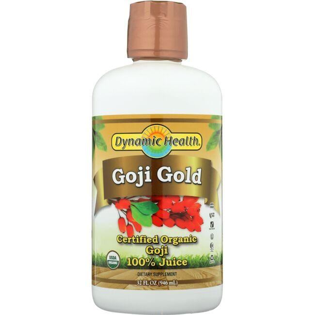 Dynamic Health Goji Gold Certified Organic Goji 100% Juice